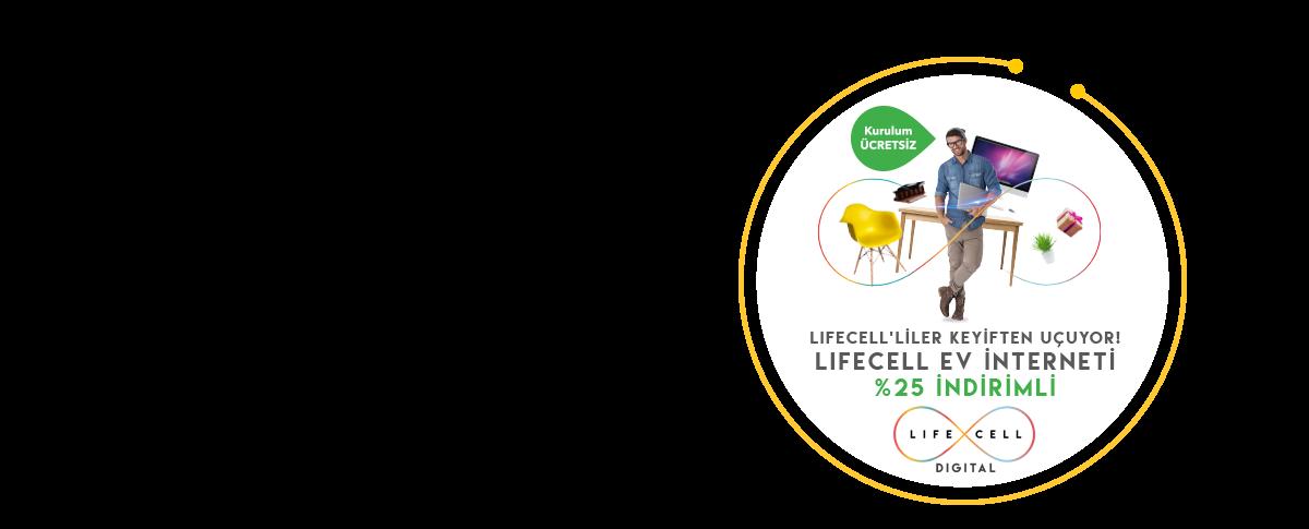 Lifecell Ev İnterneti Uçuruyor