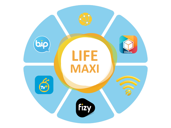 Lifecell Maxi Package