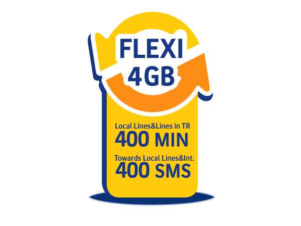 Flexi 4GB Package