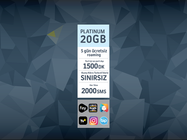 Platinum 20GB Paketi