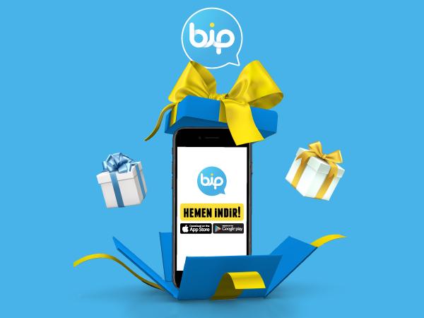 BiP'ten Mesaj Gönder, Hediye 1GB Cepten İnternet Kazan