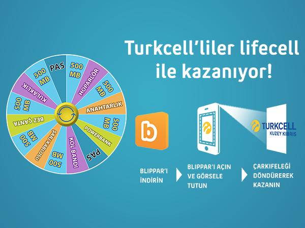 Kuzey Kıbrıs Turkcell'liler lifecell ile kazanıyor!